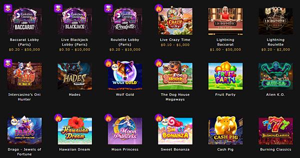インターカジノ_カジノゲーム